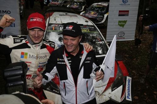 WRC18 Australia. Sébastien Ogier & Malcolm Wilson (4)