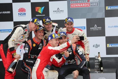 WRC18 Australia. Sébastien Ogier & Malcolm Wilson (8)