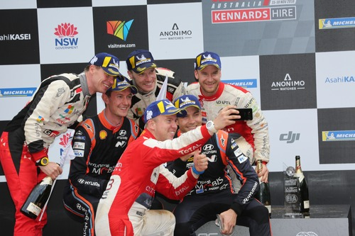 "WRC18 Australia. Thierry Neuville, l""autopsia"" (9)"
