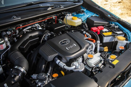 Sotto il cofano della nuova Subaru Crosstrek Hybrid