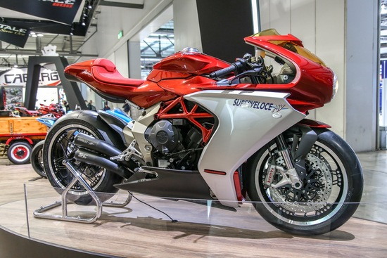 La MV Superveloce in versione concept