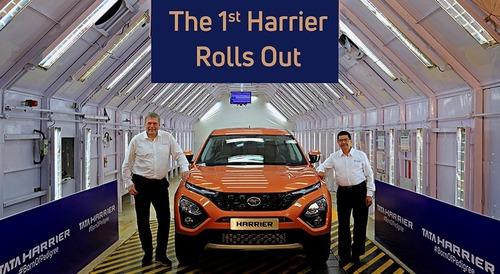 Tata Harrier: il nuovo SUV indiano in salsa europea sarebbe ben accolto anche da noi? [Foto - Video] (5)