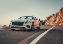 Bentley Continental GT Convertible, 2+2 da 635 CV