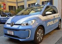 La Polizia di Stato con una nuova Volkswagen e-up!