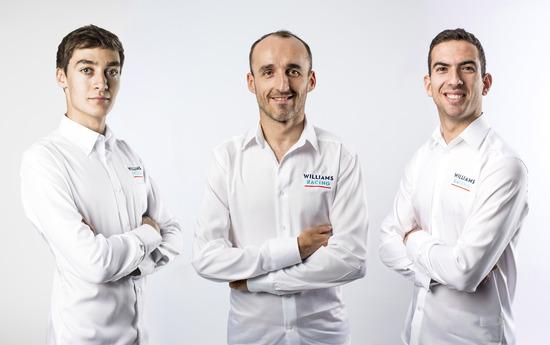 I tre piloti della Williams per il 2019