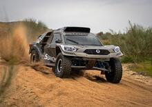 SsangYong Rexton DKR, al via della Dakar 2019