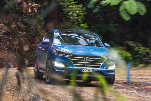 Hyundai Australian EXP 2. Country Side. Trip & Test