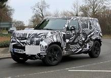 Land Rover Defender 2019, ecco le foto spia