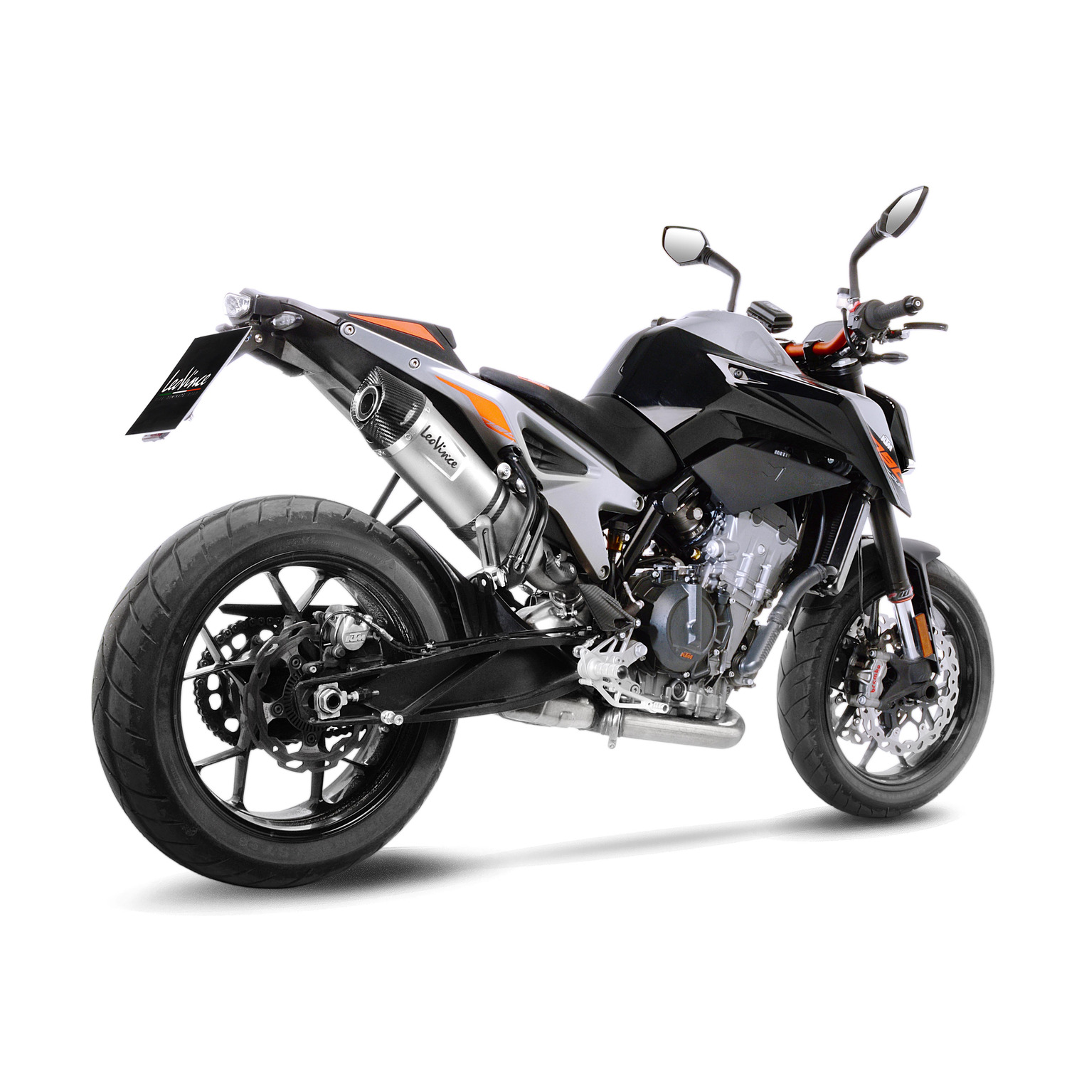 leovince lv one evo per ktm 790 duke accessori. Black Bedroom Furniture Sets. Home Design Ideas
