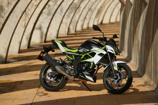 La nuova Kawasaki Z125
