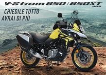 Suzuki: kit Touring per V-Strom 650