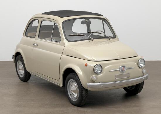New York, Fiat 500 esposta al MoMA: grande esempio di design