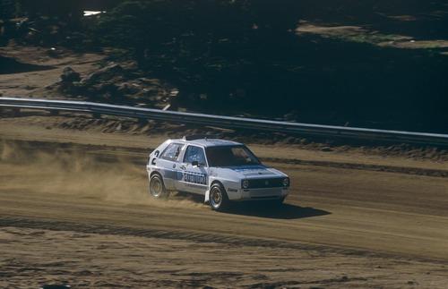 Volkswagen Golf, nel 1987 con due motori per la Pikes Peak (4)