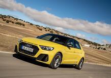 Audi A1 Sportback: i nuovi motori 35 e 40 TFSI