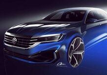 Volkswagen Passat 2019: il restyling arriva a gennaio