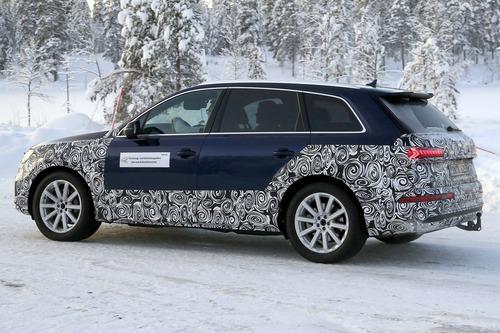 Audi Q7, atteso il restyling [Foto spia] (7)