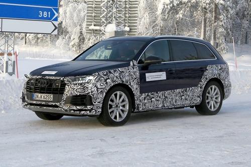 Audi Q7, atteso il restyling [Foto spia] (4)