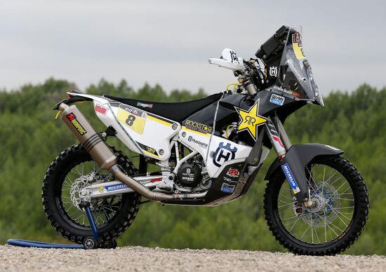 Richiamo Husqvarna FR 450 Rally 2019: serbatoio posteriore