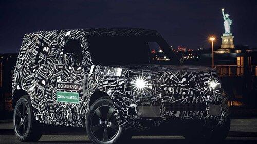 Nuovo Land Rover Defender, le prime immagini ufficiali (3)