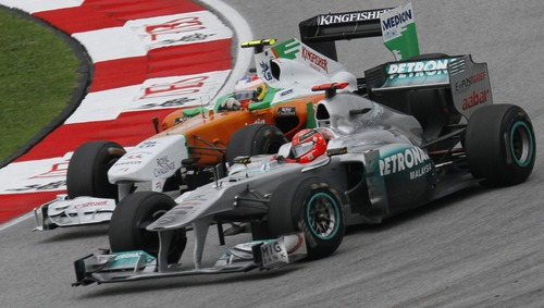 Michael Schumacher, Storia in F1: le manovre Top & Flop [video - foto] (8)