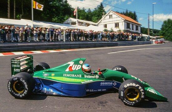 La prima F1 di Schumi, quella che gli diede Eddie Jordan