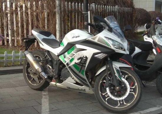 Non puoi permetterti la Kawasaki Ninja? Prova la Kawaiski Niaja!
