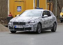 Nuova BMW Serie 1 2019, ecco le foto spia