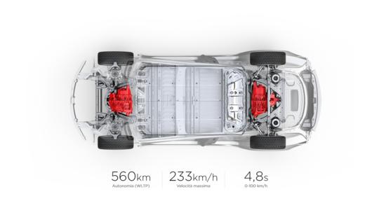 Anche la Tesla Model 3 Long Range offre delle prestazioni notevoli