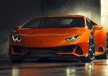 Lamborghini Huracan EVO, quattro ruote sterzanti e più potenza