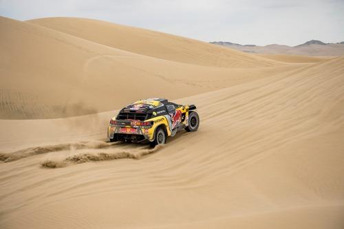 Dakar Perù 2019 Loeb-Peugeot. Pisco: nulla da segnalare (4)