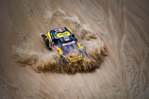 Dakar Perù 2019 Loeb-Peugeot. Pisco: nulla da segnalare (6)