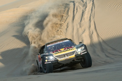 Dakar Perù 2019 Loeb-Peugeot. Pisco-Nazca-San Juan de Marcona: si vince! (6)