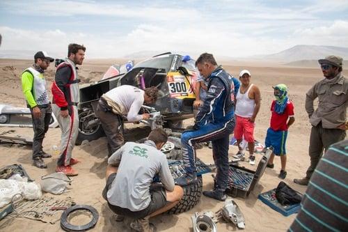 Dakar 2019 100% Perù. Dakar stravolta. In testa Al Attiyah (Toyota) e Quintanilla (Husqvarna) (4)