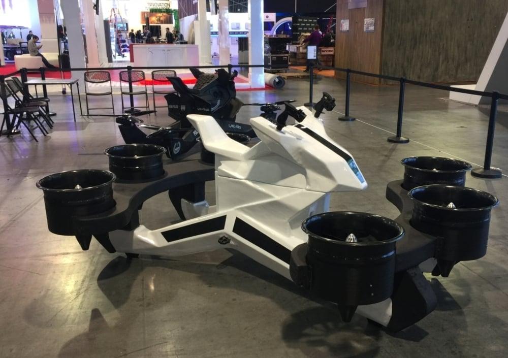 Anche la moto volante al CES 2019