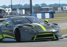 Aston Martin Vantage GT3, il missile britannico [Video]