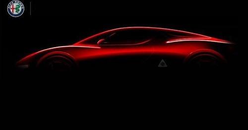 Nuova Alfa Romeo 8C, Ufficiale nel 2023? (4)