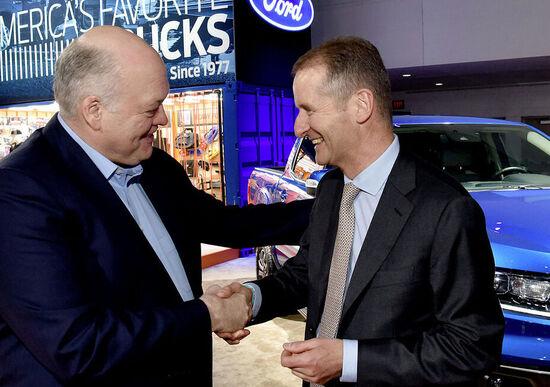 Volkswagen-Ford: è alleanza. Primo passo i veicoli commerciali