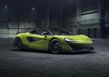 McLaren 600LT Spider, vento e leggerezza