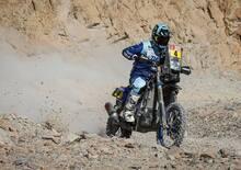 Dakar 2019, Van Beveren tradito dal motore della sua Yamaha!