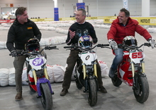 Thundervolt NK-E, la moto di Loris Reggiani svelata al Motor Bike Expo di Verona