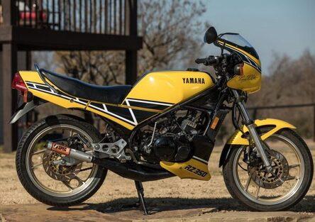 Yamaha RZ350 Kenny Roberts Edition all'asta negli USA
