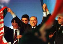 25 anni di Forza Italia. Nel 1994 Agnelli disse «Berlusconi prenderà il 3%»