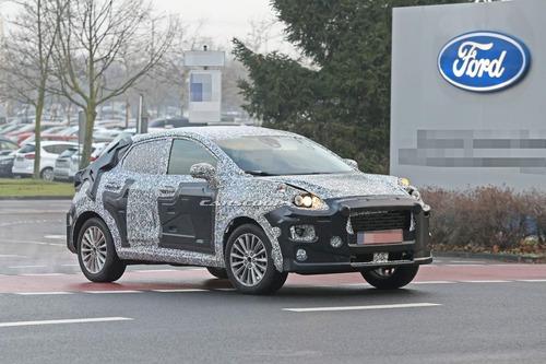Ricordate la Ford Puma? Rinasce Crossover per il 2020 [foto gallery] (5)