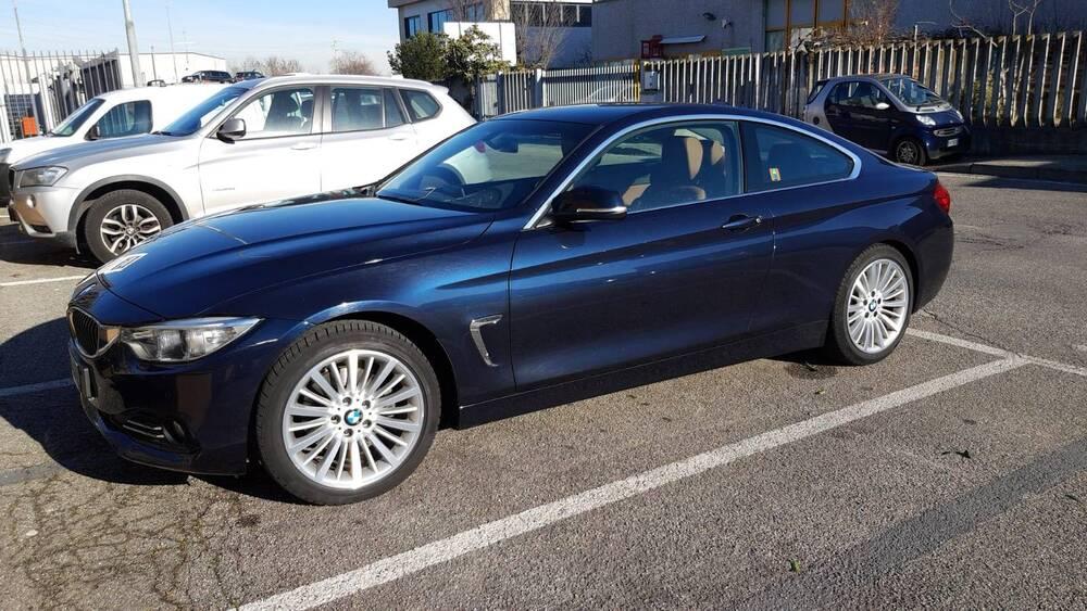 BMW Serie 4 Coupé 420d  Luxury del 2014 usata a Somma Lombardo