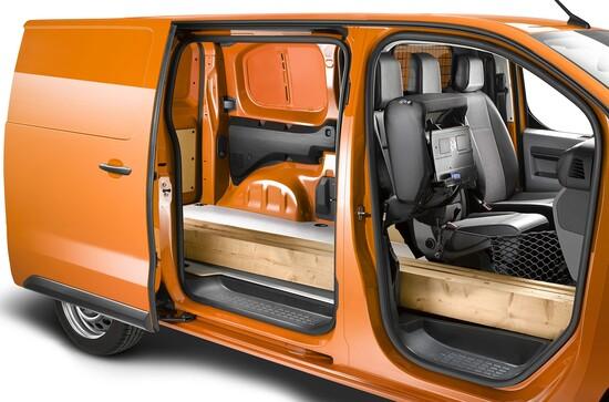 La capacità di carico del nuovo Opel Vivaro