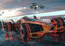 Formula 1: così McLaren la immagina nel 2050