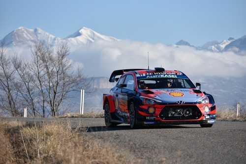 WRC 2019. Monte-Carlo. Ouverture. Tanak (Toyota) (6)