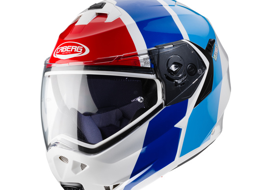 Casco apribile Caberg Duke II Impact BMW Sport color