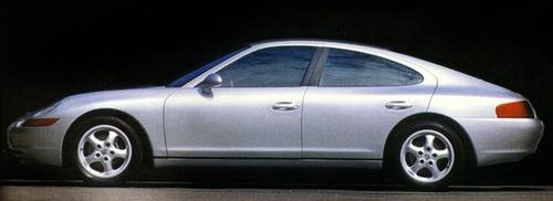 Porsche 989, la 4 porte che non vide mai la luce (5)