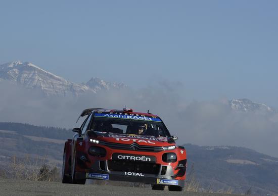 WRC 2019 Monte-Carlo, Citroen: Ogier al Comando